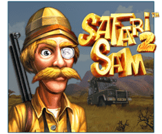 machine a sous mobile Safari Sam 2 logiciel Betsoft