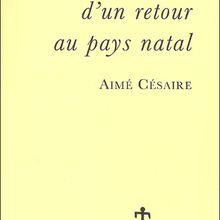 Aimé Césaire, l'un des pères du mouvement de la négritude