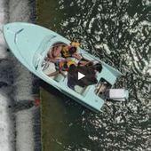 VIDEO - sauvetage in extremis d'un hors-bord entraîné vers une chute d'eau - ActuNautique.com