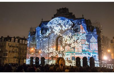 [VIDÉO] VIDEO MAPPING FESTIVAL #1 - Porte de Paris, Lille, mars 2018