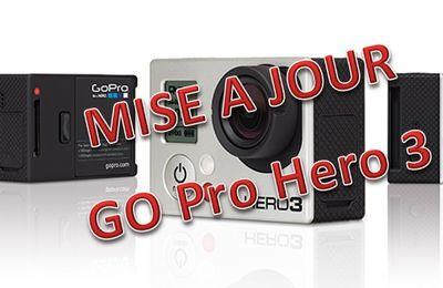 Go Pro HERO 3 - Mise à jour du Fireware