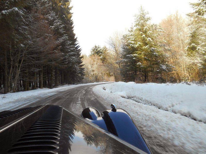 Photos dans la neige de JP Raynaud de LVA