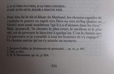 Majid Rahnema: les chemins vers al-Haq, de Abu Sa'id ab El Khayr à Saint François d'Assise et Simone Weil