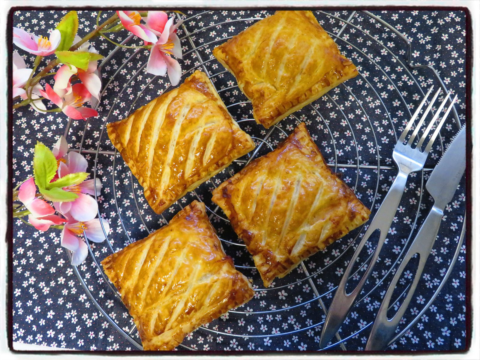 friands jambon fromage