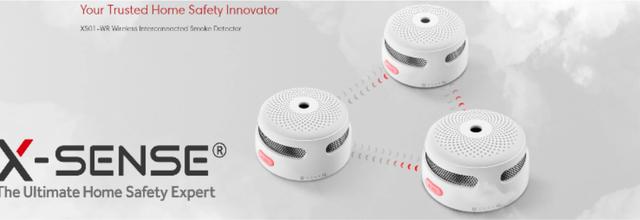 On a testé la gamme de détecteurs de fumée connectés X-Sense XS01
