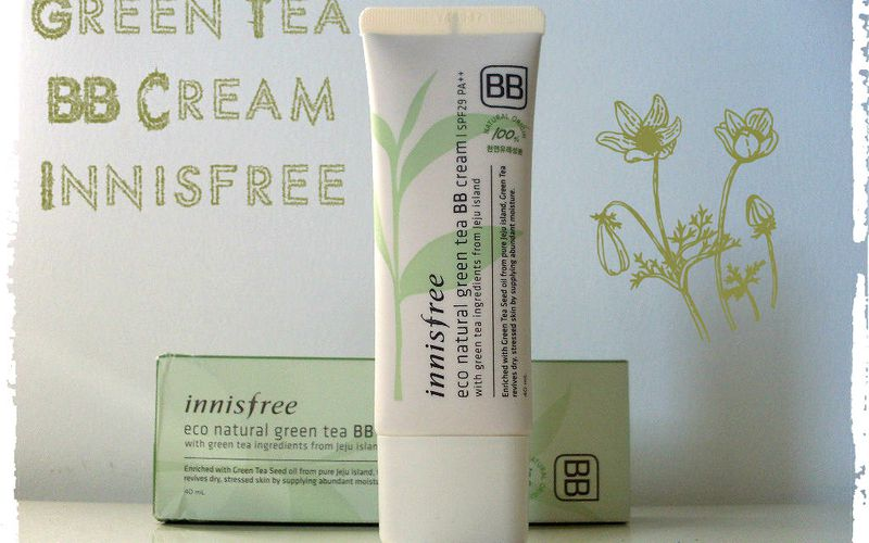Je test : Eco Natural Grean Tea BB Cream d'Innisfree, une BB sans silicones !!