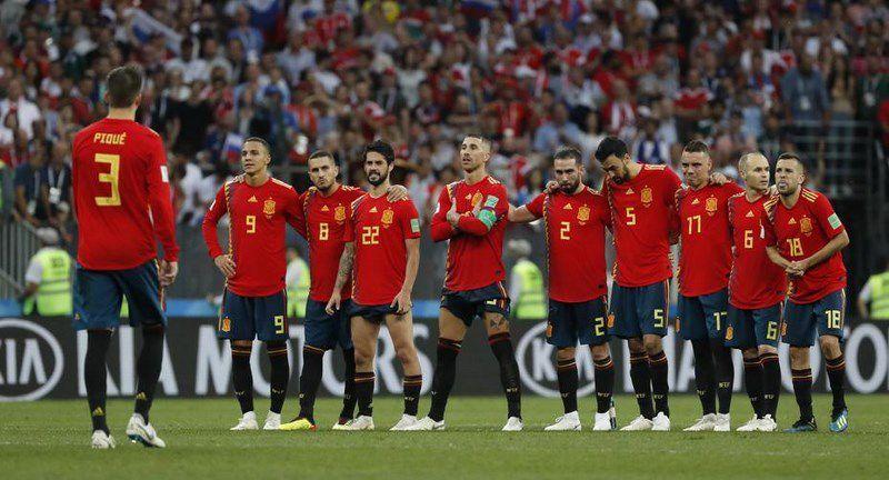España vaise sen deixar pegada