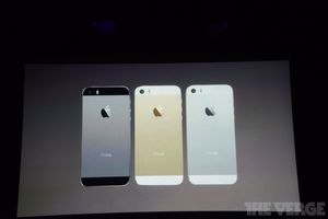 Apple annonce l'iPhone 5S