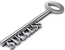 Tu détiens la clé du succès...