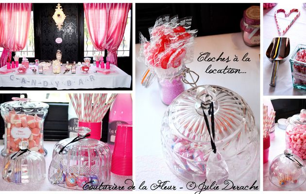 Mariage Marquise   Fleuriste mariage Cygory   Part 3   Le Candy Bar !