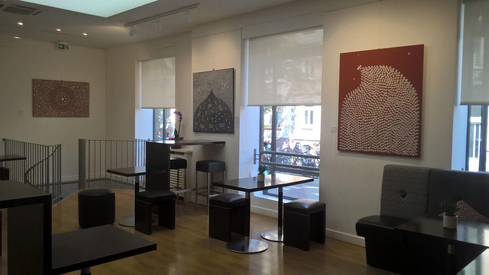 """Strasbourg : l'exposition """"Peintre paysan de l'Inde tribale"""" est en place !"""