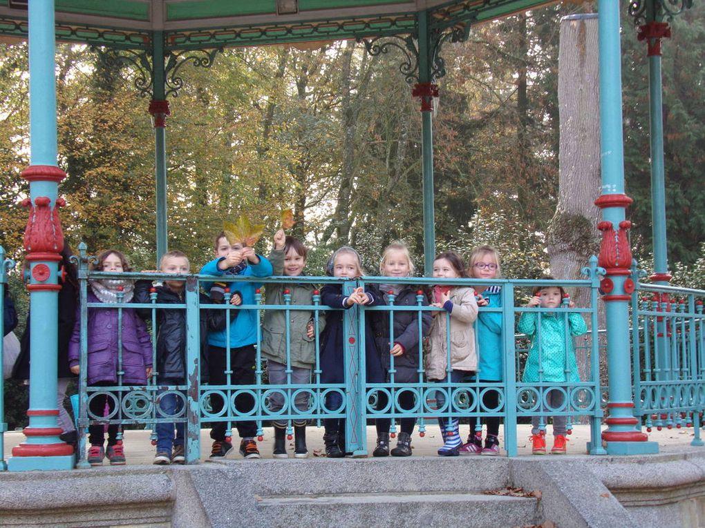 Sortie au Jardin du Parc des PS-MS