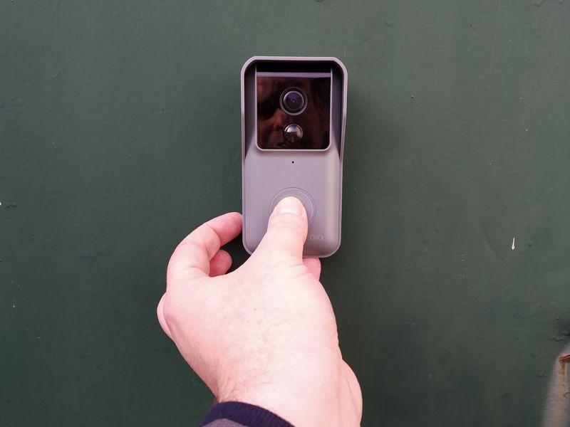 test de l'interphone sans fil connecté DiO DioBell-B02 avec appareil photo @ Tests et Bons Plans