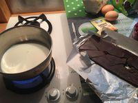 Gâteau healthy chocolat & framboise