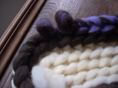 chausson de laine