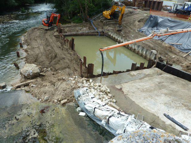 Des nouvelles des travaux de la centrale hydro-électrique