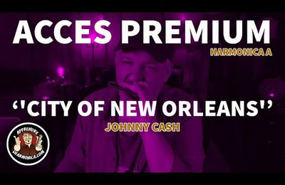 Johnny Cash – City of New Orleans – Harmonica A