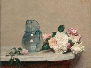 A fleur de peau (Henri Fantin Latour, musée du Luxembourg)