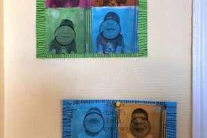 Nos tableaux-photo émotions en GS chez Marie
