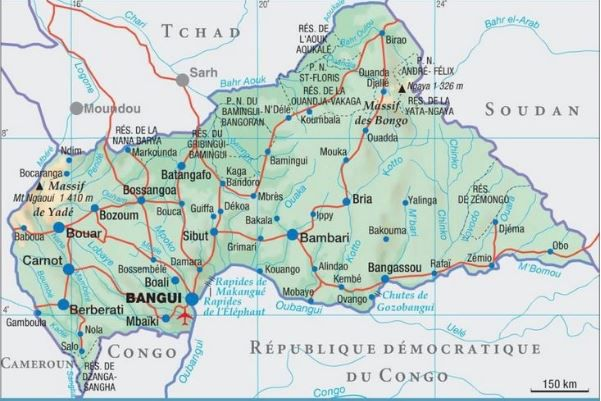Centrafrique – Tchad
