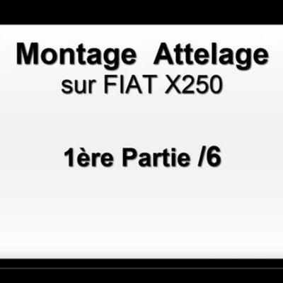 Video 1/6 tutorial pour Montage Attelage Camping car sur un Fiat X250 par FRANSSEN REMORQUES