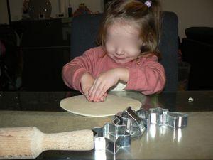 Etape 1 : pâte à sel