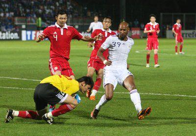 EQUIPE DE FRANCE DE FOOTBALL 2010 / 0-1 CONTRE LA CHINE
