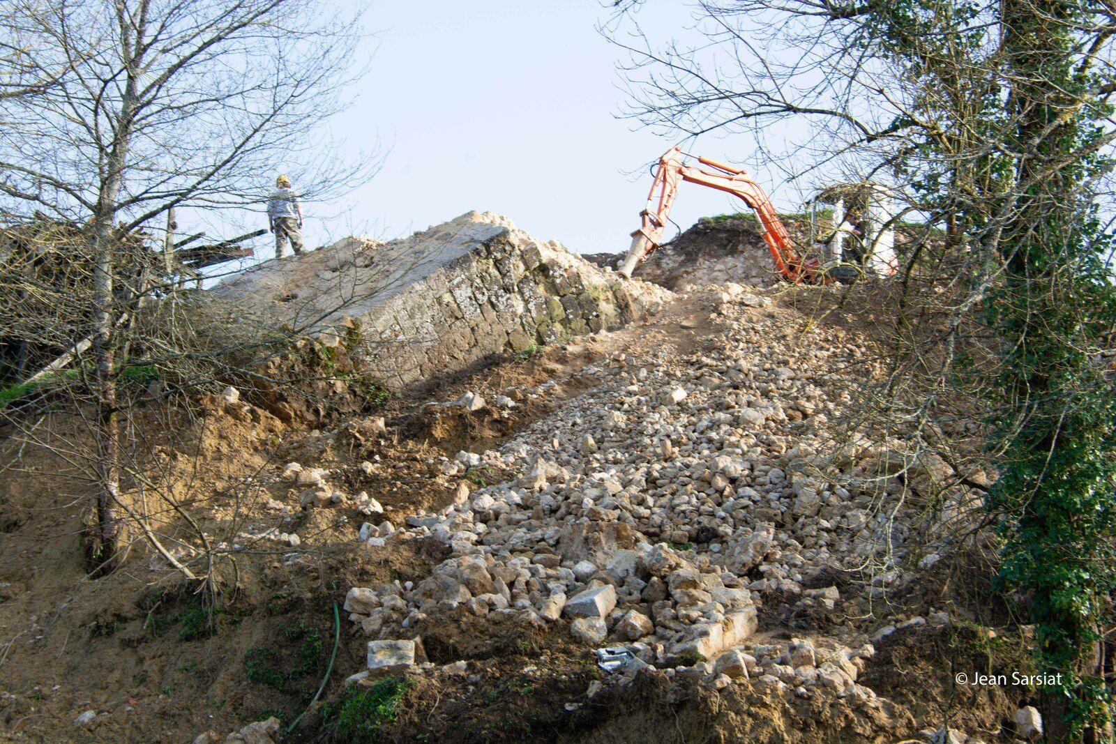 le chantier mardi 22 février
