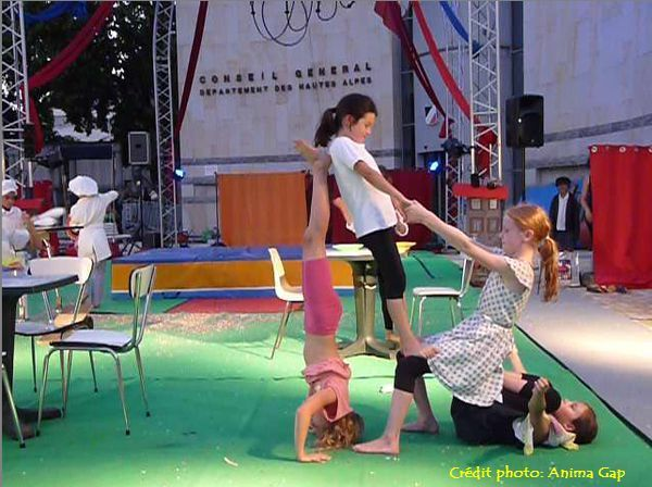 Spectacle 2017 du Cirque de la lune