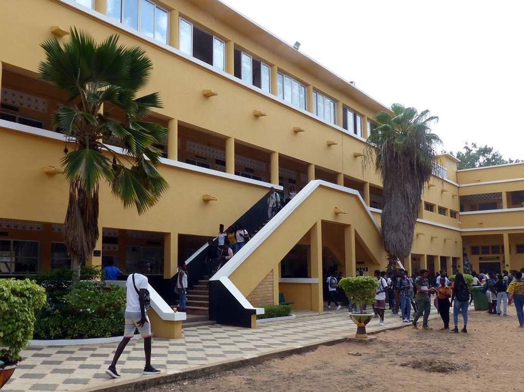 De Hambourg à Dakar.