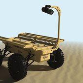 L'Institut franco-allemand de recherches de Saint-Louis présente l'Aurochs, un robot-mule (très) prometteur