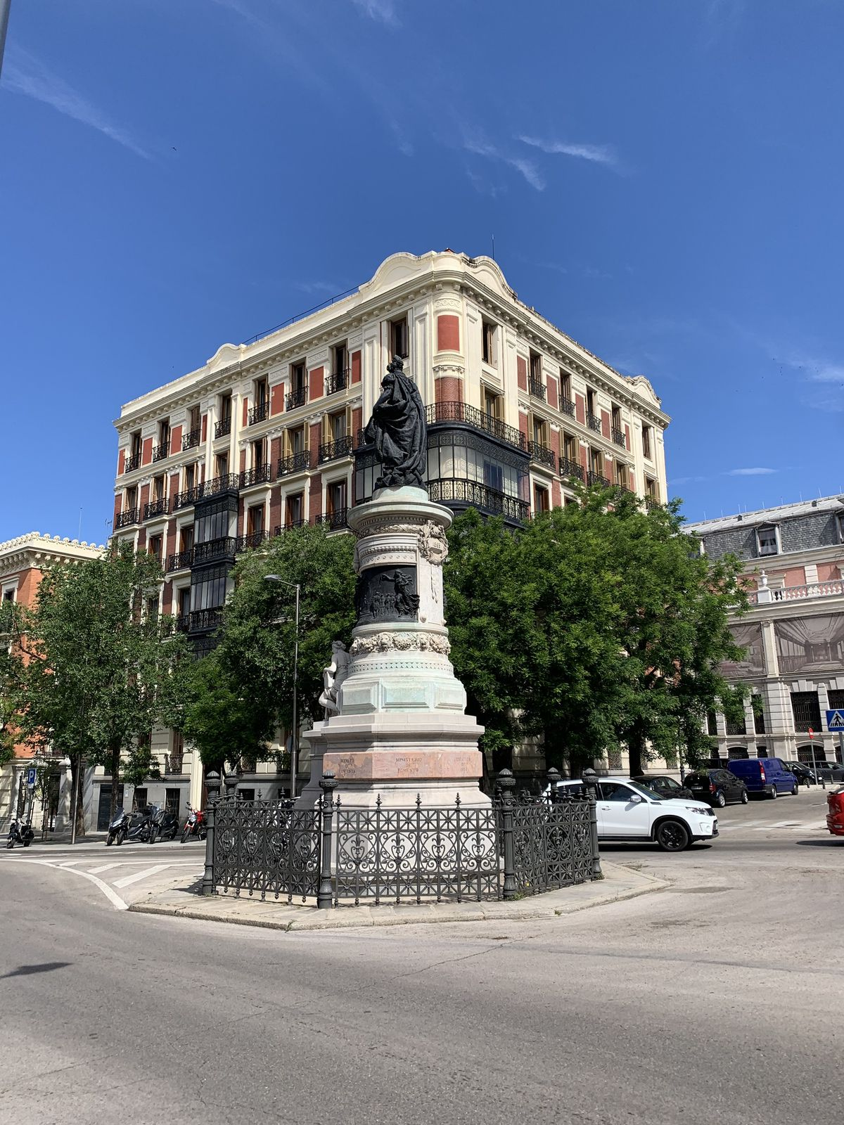 Plaza de Cibeles, Gran Vía et alentours.
