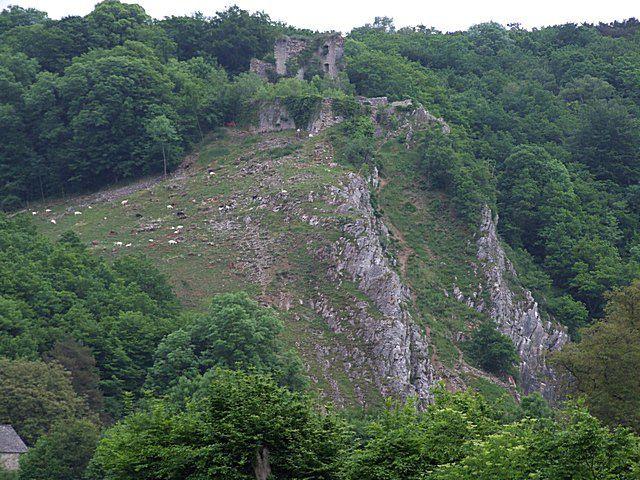 Diaporama château de HAUTE ROCHE à Dourbes