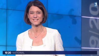 2013 02 25 - CAROLE GAESSLER - FRANCE 3 - LE 19-20 NATIONAL @19H30