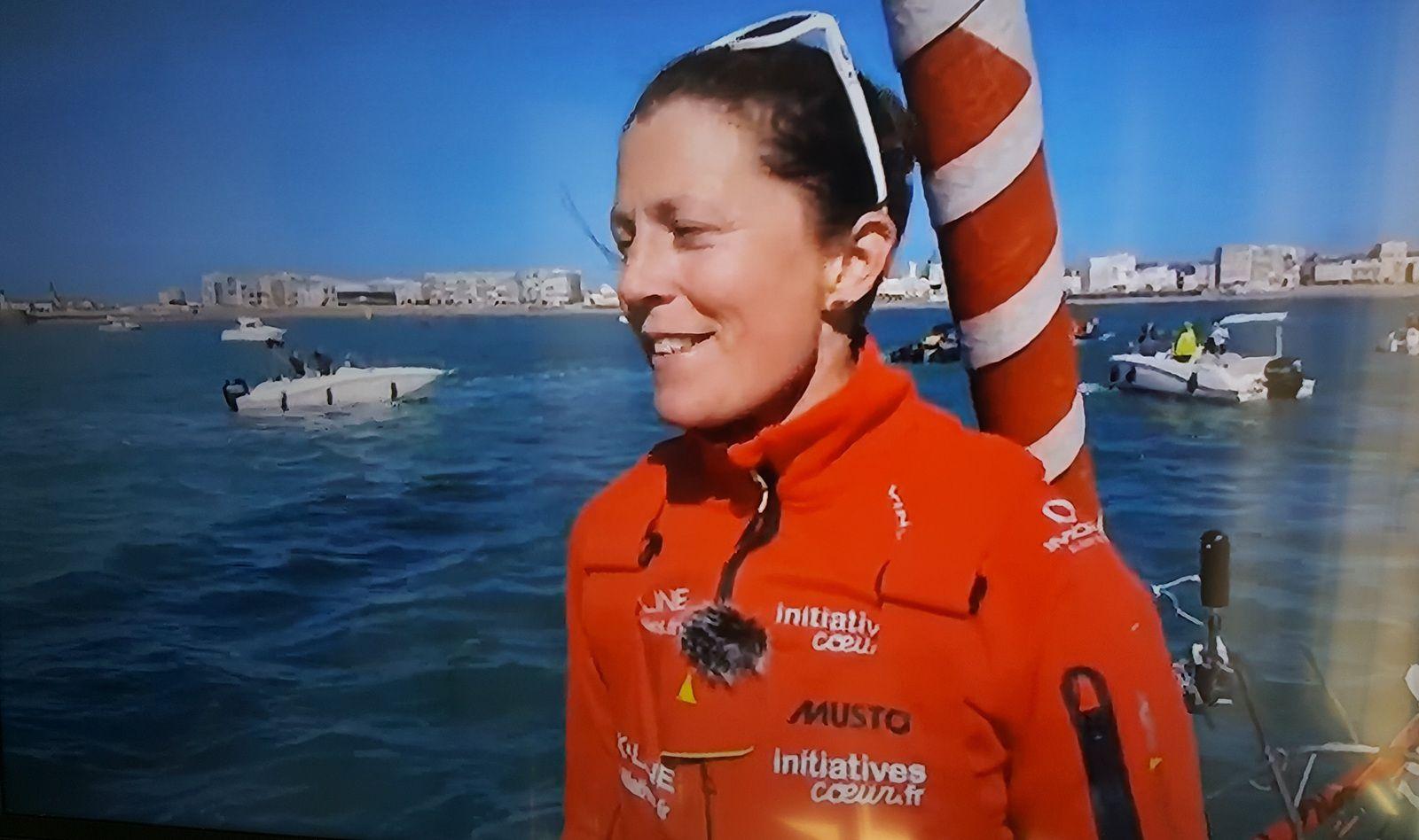 Samantha En mer, avant l'entrée dans le chenal