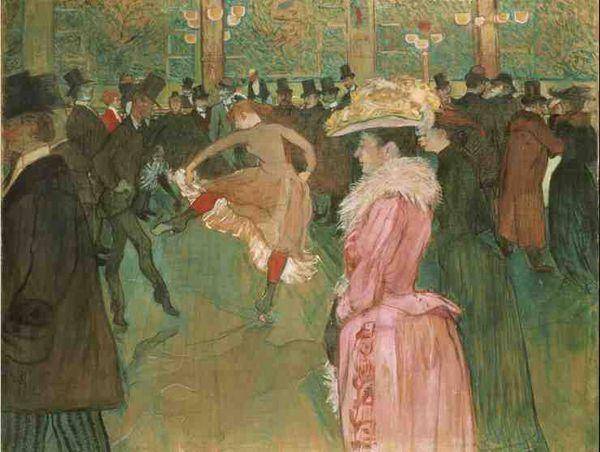 Henri de Toulouse - Lautrec (1864-1901) - Les lumières de Paris
