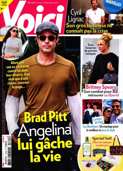 La une des hebdos people ce vendredi 4 décembre : Jalil Lespert, Brad Pitt, «le dîner de la honte»…