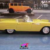 FASCICULE N°7 FORD THUNDERBIRD CONVERTIBLE 1955 T-BIRD - car-collector.net