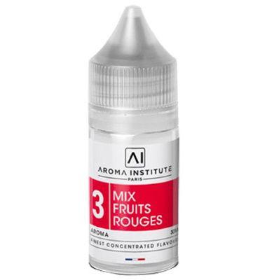Test - Eliquide - DIY - Arôme N°3 Mix Fruits Rouges gamme Aroma Institute de chez J Well