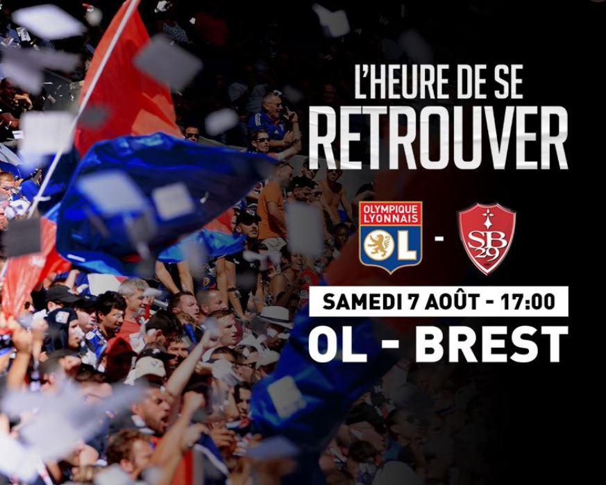 Lyon / Brest : Sur quelle chaîne suivre la rencontre samedi ?