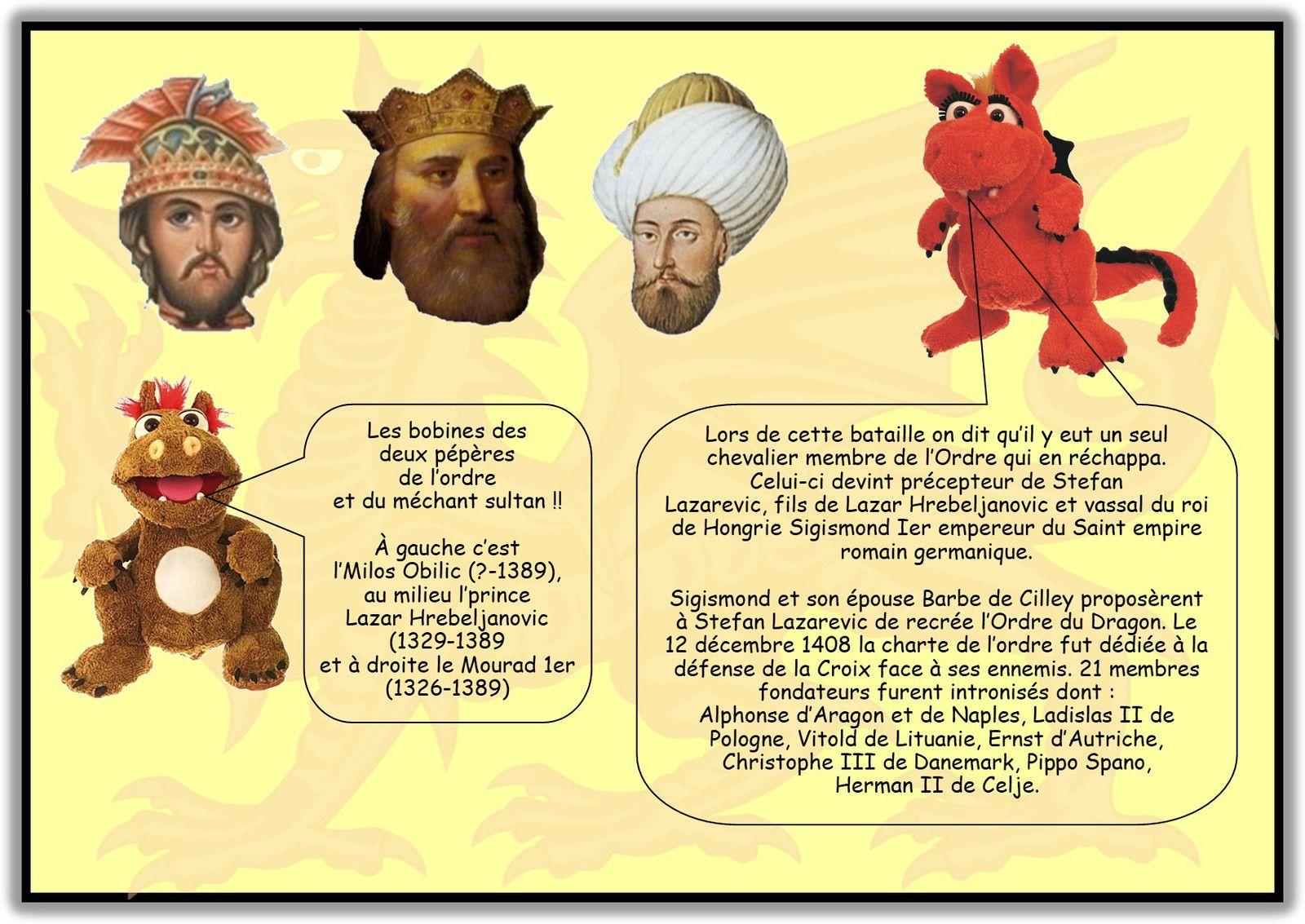DRAGONS ET ORDRES DE CHEVALERIE