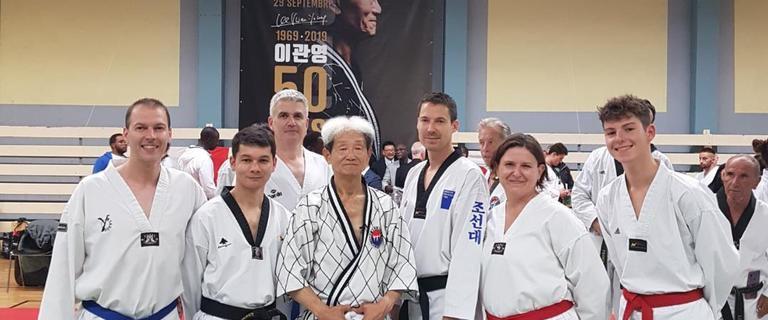 Célébration des 50 ans du Taekwondo