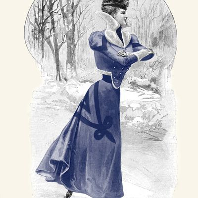 Costume de patinage de 1898