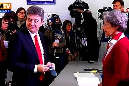 Présidentielle 2012 : Melenchon a voté à Paris