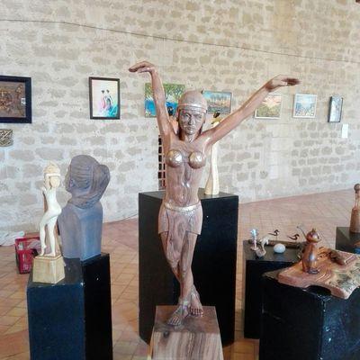 Exposition au château de Fargues