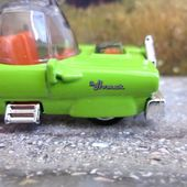 THE HOMER SIMPSONS HOT WHEELS 1/64 - car-collector