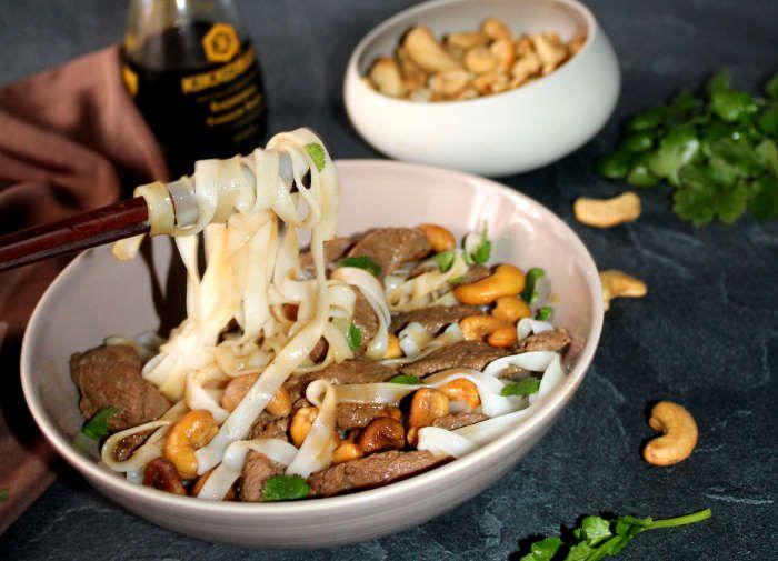 plat-pâtes-canard-noix-cajou-recette-ww