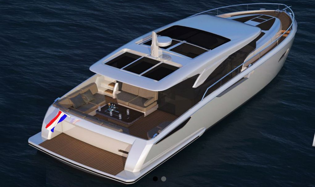 The first Jetten Beach 45 on Cannes Yachting Festival