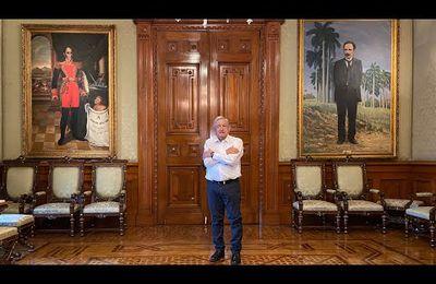 Message de AMLO au président Luis Alberto Arce Catacora et au peuple bolivien