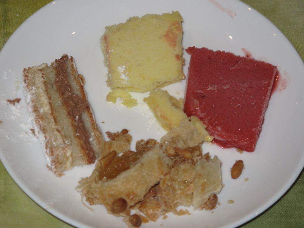 repas du dimanche soir: pot au feu, glaces et spécialités catalanes
